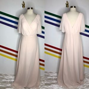NEW Watters ice pink gown